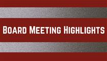 Board of Education Highlights: 10/20/20 Meeting