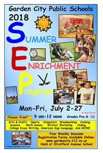 There are still some openings for GCPS's 2018 Summer Enrichment Program - Classes run through the end of July!