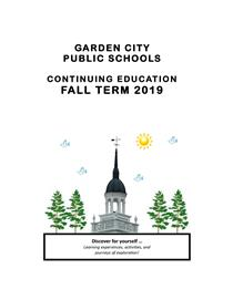 Continuing Education Fall 2019 Brochure