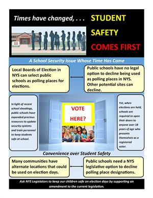 Polling PLaces Infographic