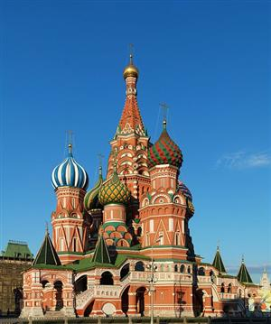 Saint Basil's in Moscow