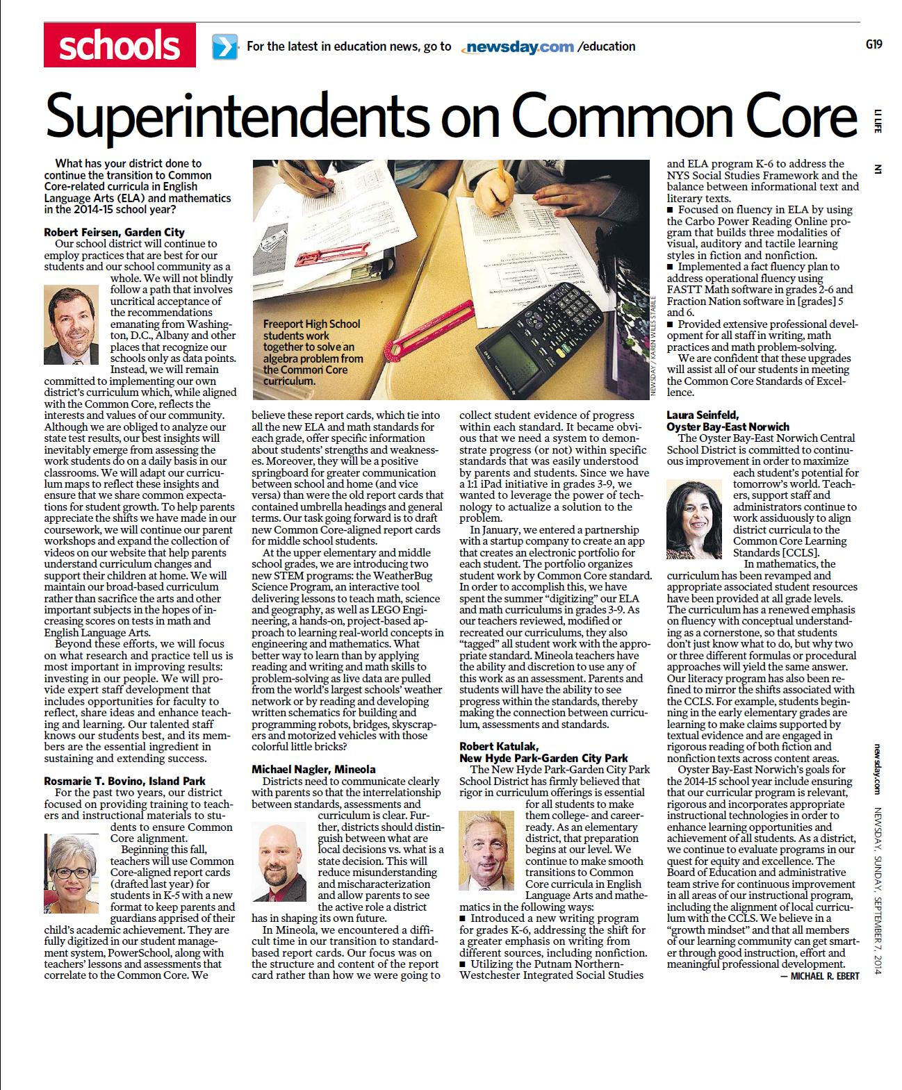 Dr. Feirsen on Common Core
